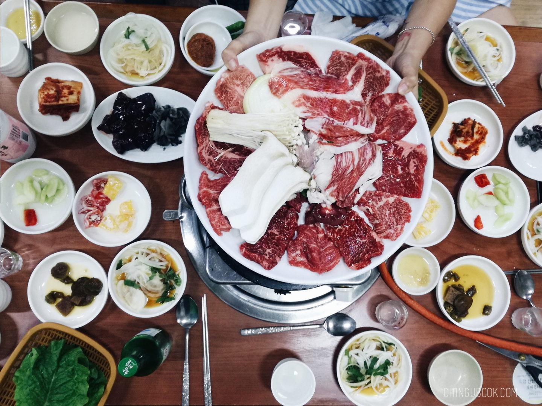 gastronomie coréenne - bœuf coréen