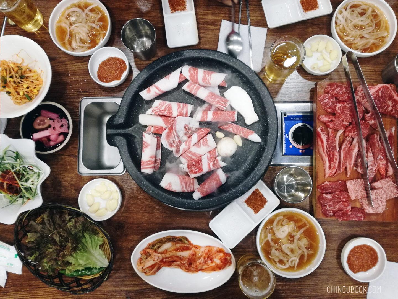 gastronomie coréenne - barbecue coréen