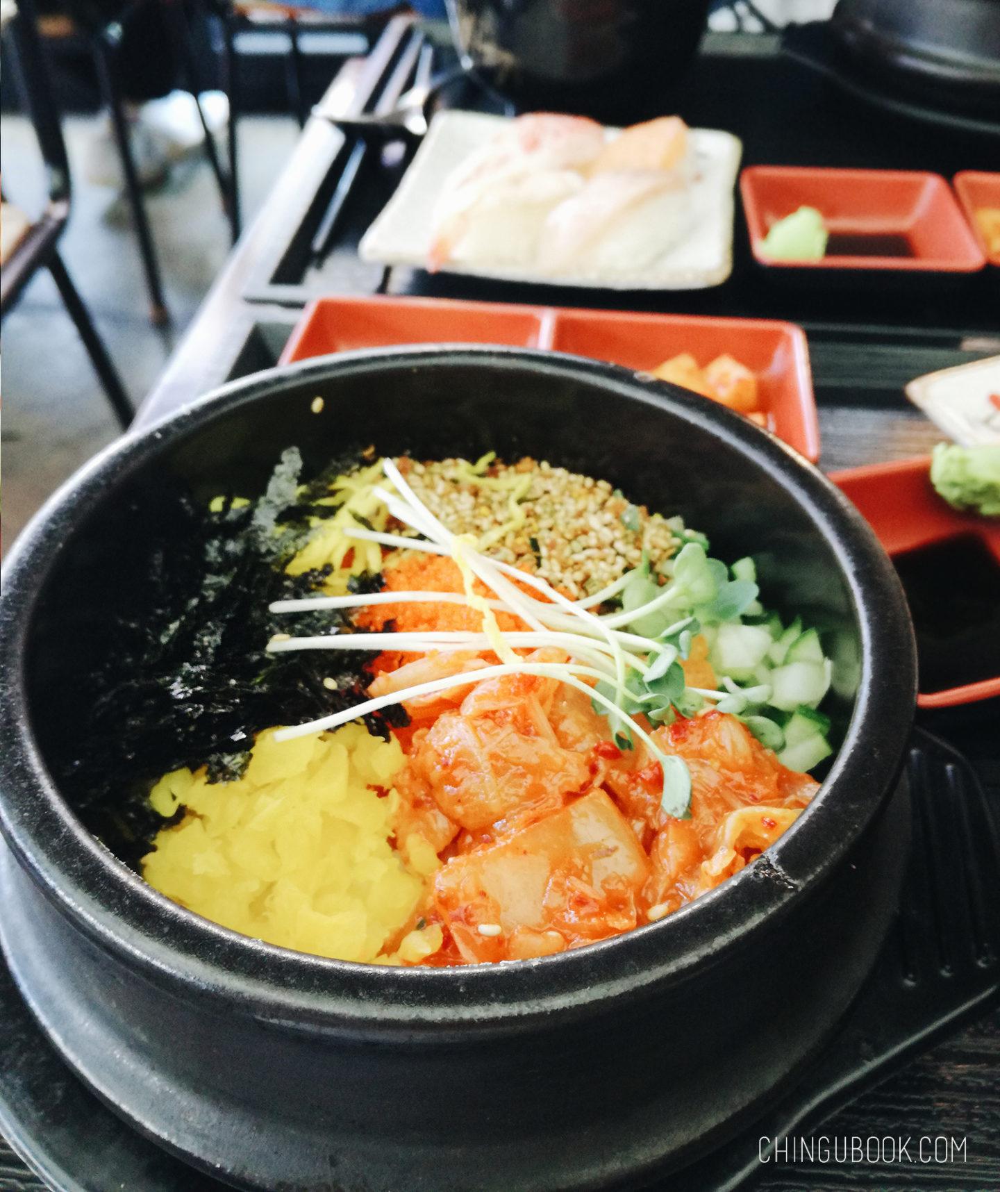 gastronomie coréenne - bibimbap