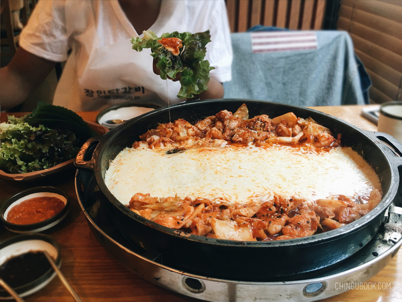 gastronomie coréenne - dakgalbi