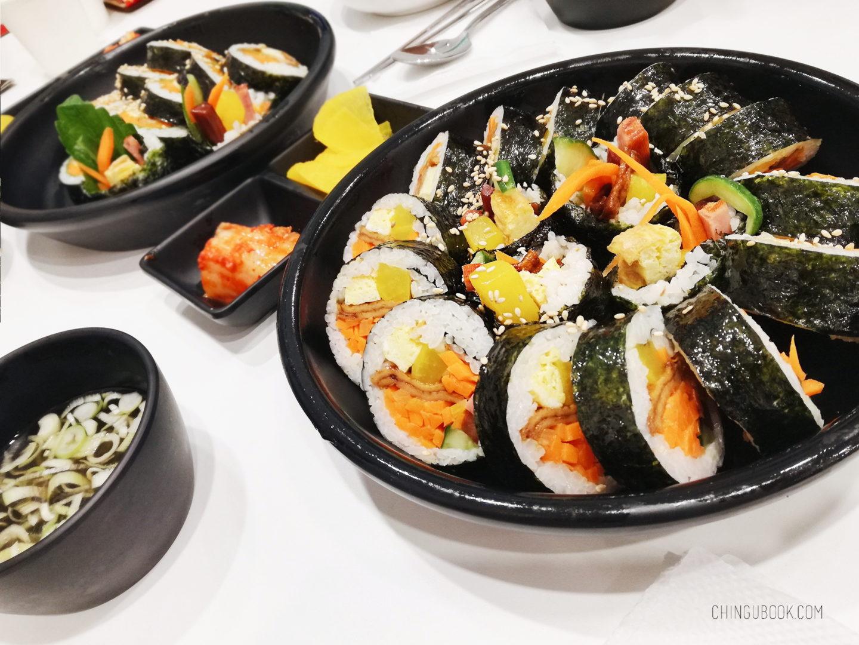 gastronomie coréenne - kimbap