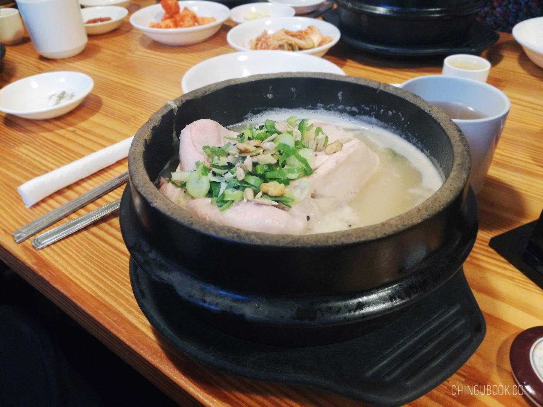 gastronomie coréenne - samgyetang