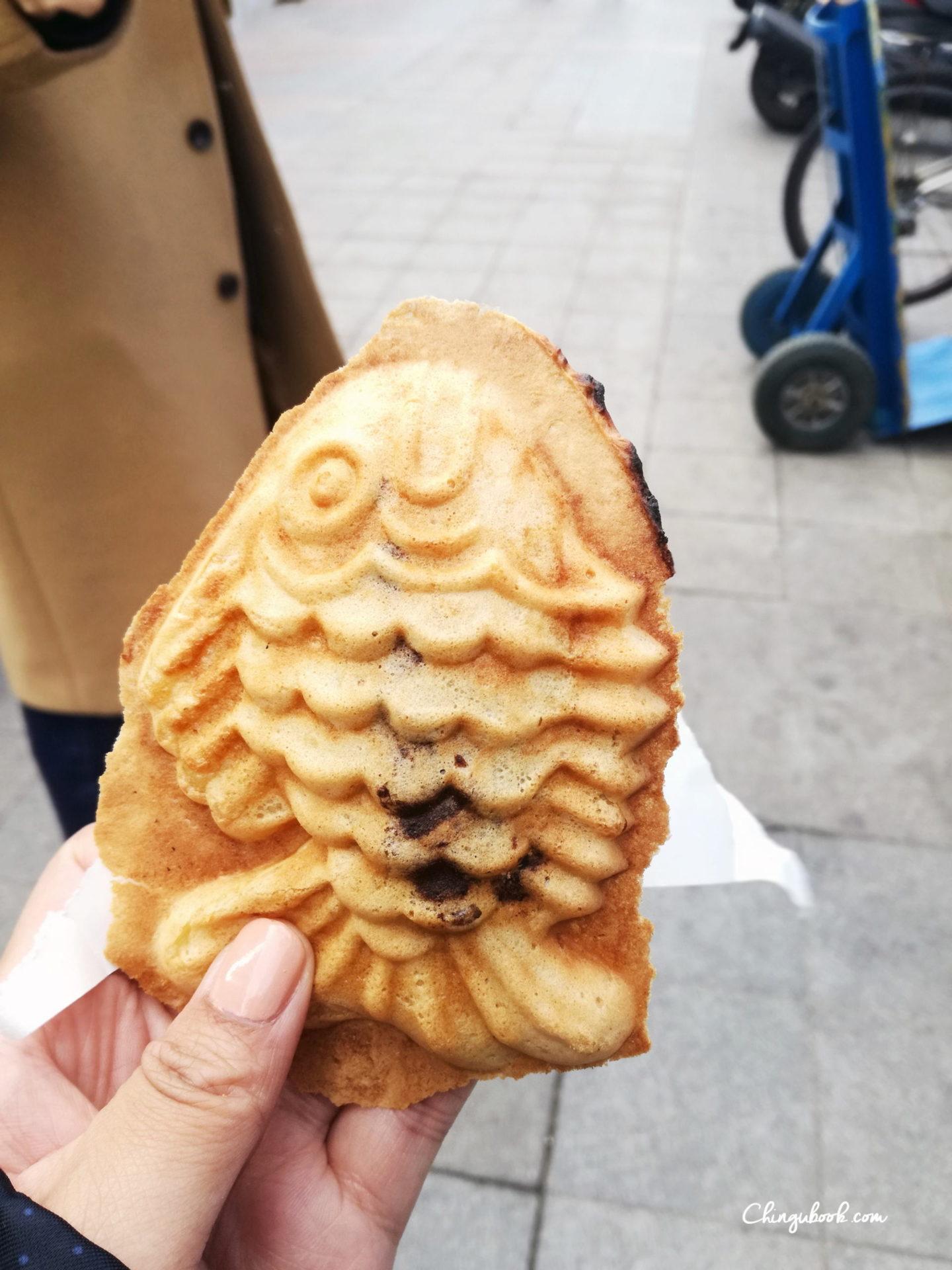 hiver Corée du Sud - street food