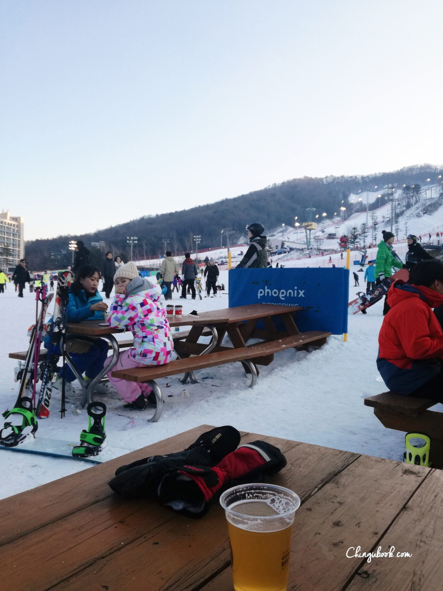 traditions - ski Corée du Sud