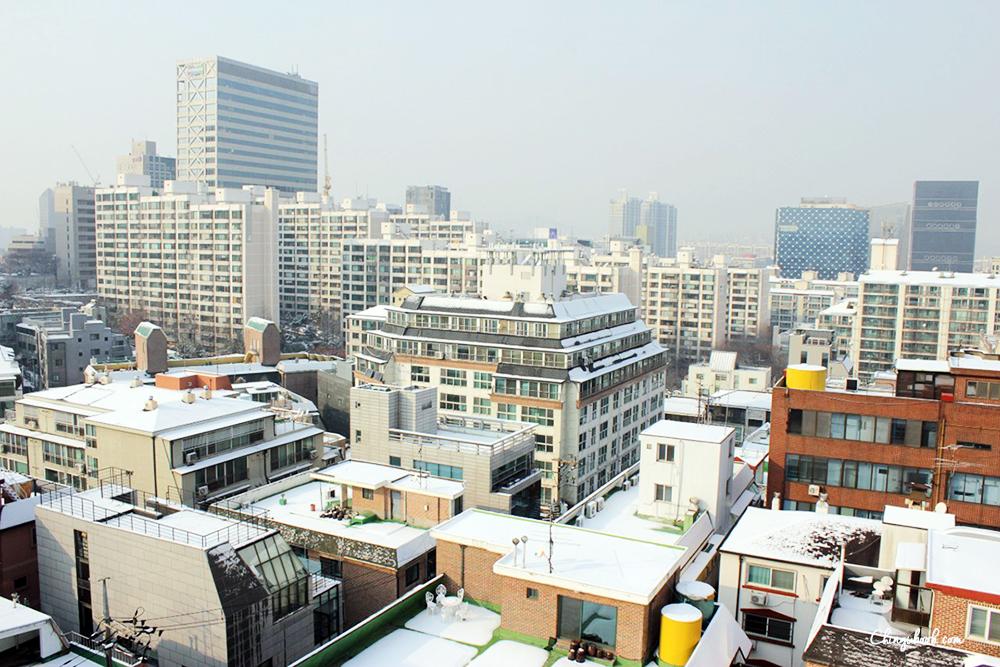 hiver Corée du Sud