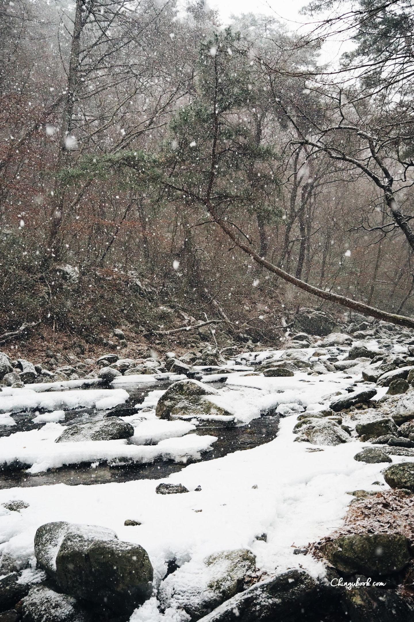 Un hiver en Corée du Sud
