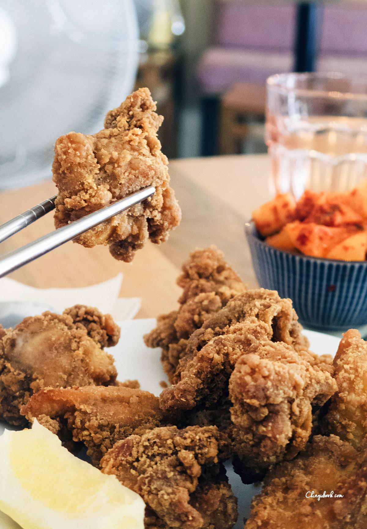 poulet frit coréen paris