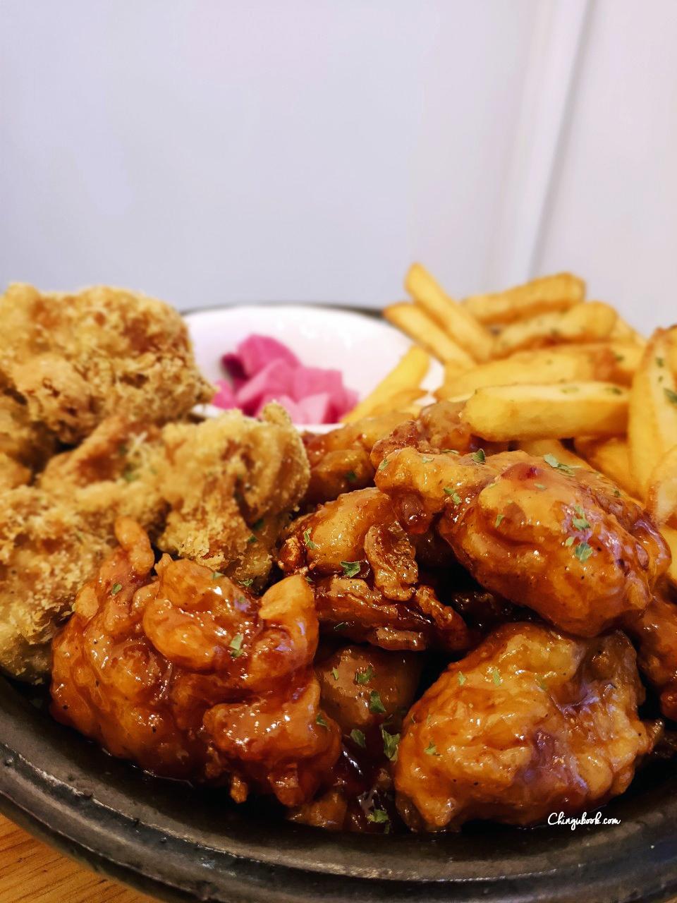 Yangnyeom chicken paris