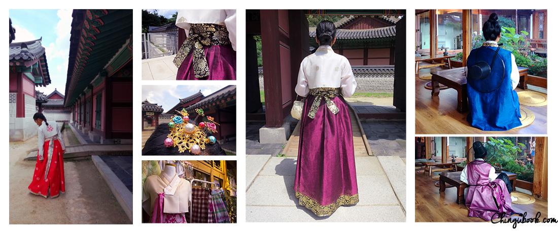 Hanbok Corée du Sud