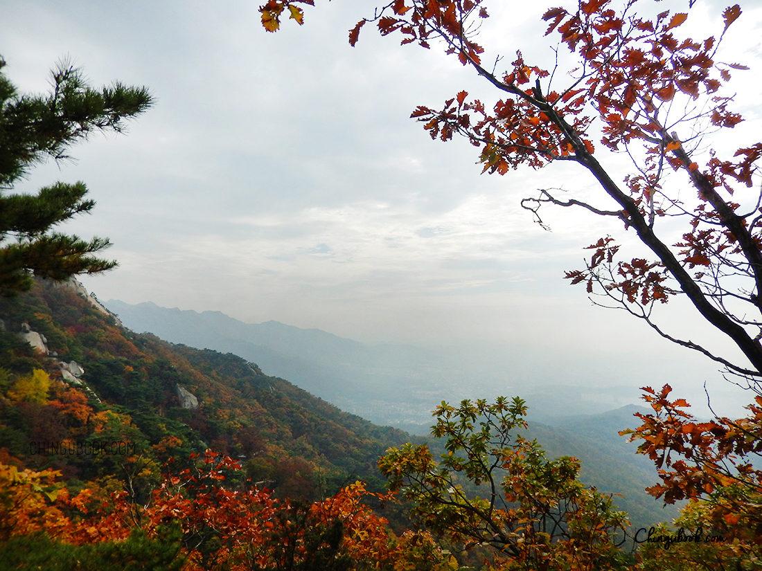 La Corée du Sud en automne