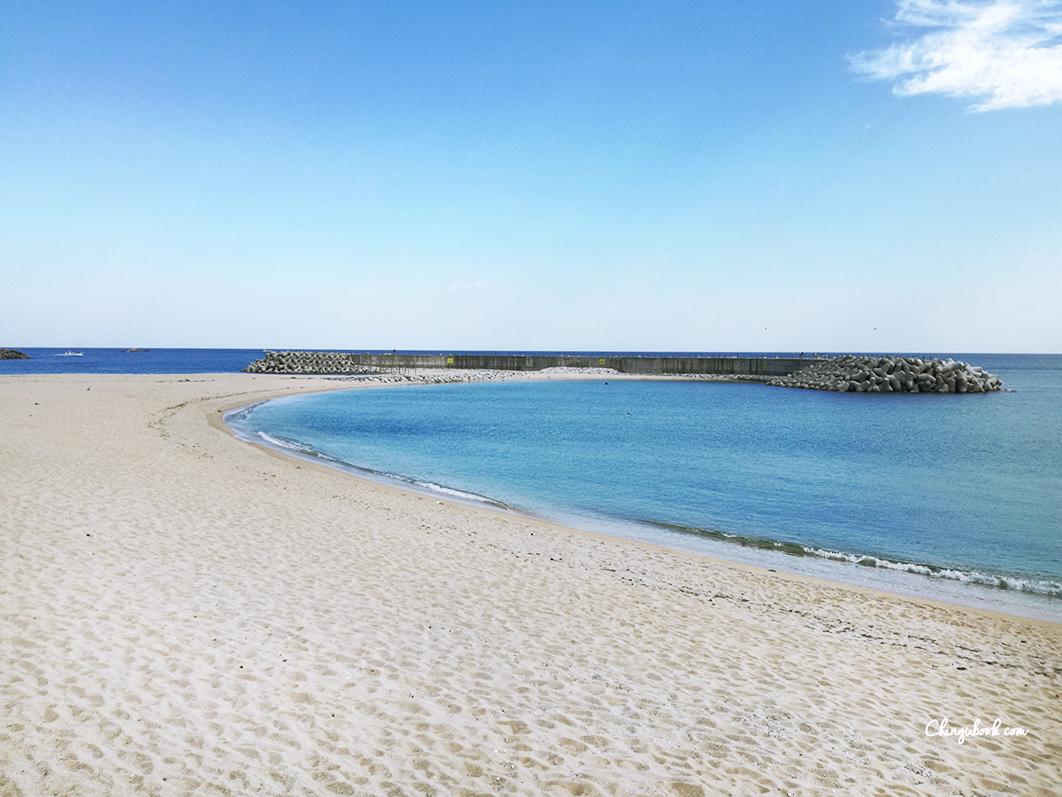 Sokcho plage automne