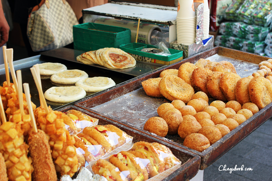 Street food Corée du sud automne