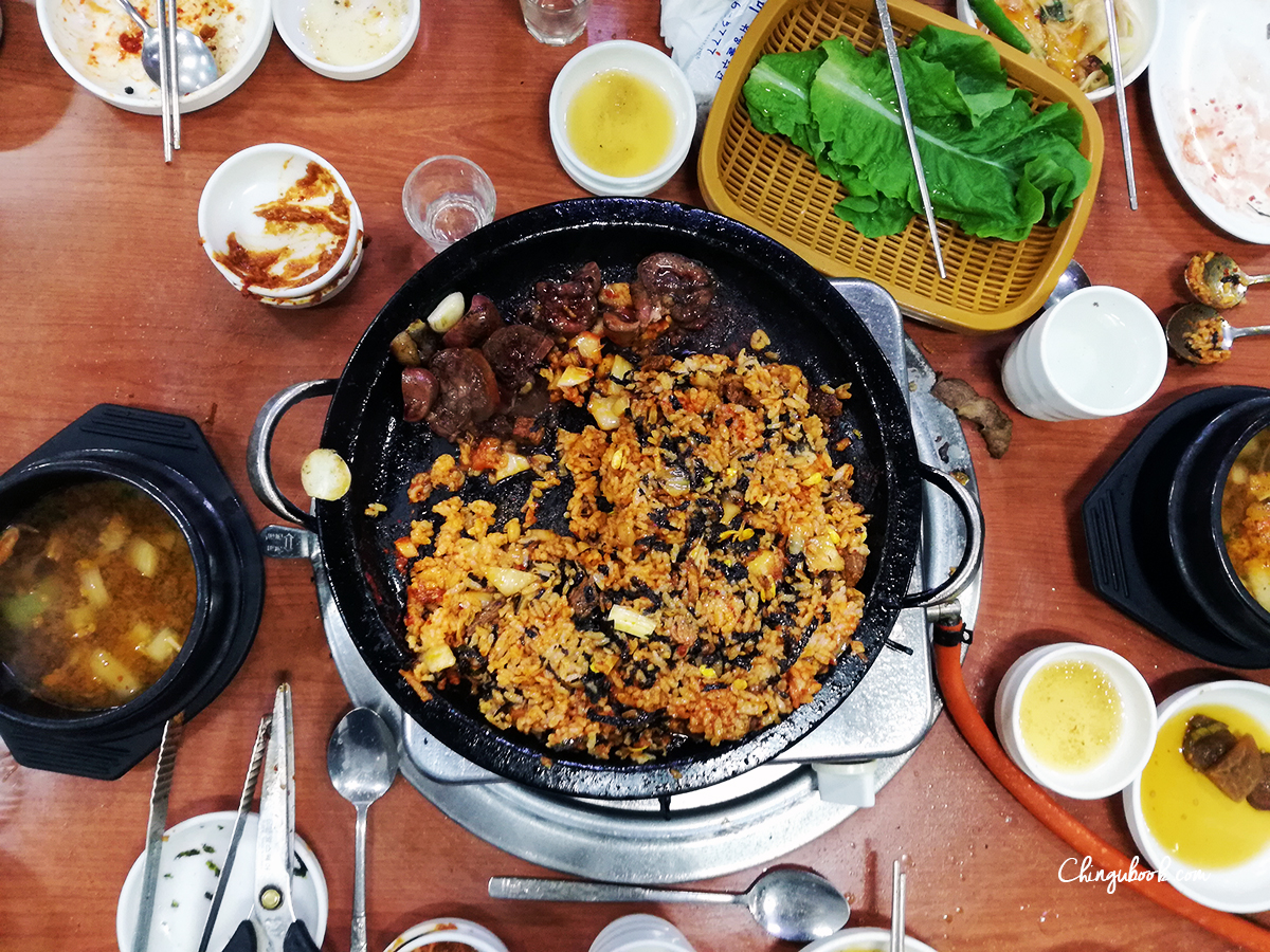 Korean bbq bokkeumbap - Chingubook
